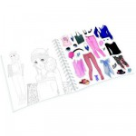 Cahier de création Miss Modeline : Fashion Eté