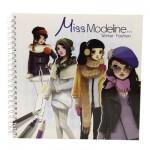 Cahier de création Miss Modeline : Fashion Hiver