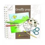Carnet de coloriage Graffy Pop : Campagne