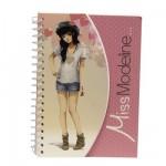 Carnet Miss Modeline Creativ'Model A6 : Perrine