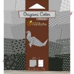 Origami Color noir et blanc