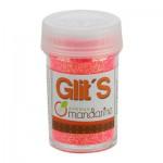 Paillettes Glit's 14g : Fluo Rose-Orange