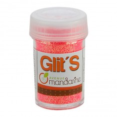 Paillettes Glit's 14g : Fluo Rose-Orange