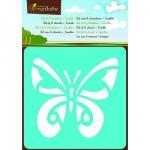 Pochoirs Set de 6 pochoirs : Insectes