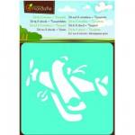 Pochoirs Set de 6 pochoirs : Transport