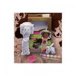 Poupée à peindre Poupée du monde Afrique : Awalé