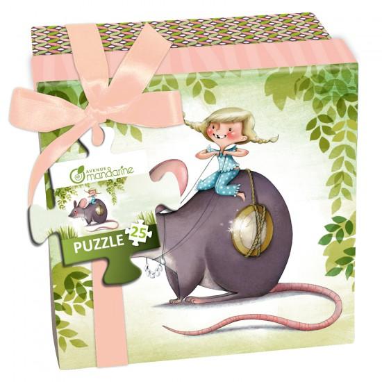 Puzzle 25 pièces : La petite souris - 62420