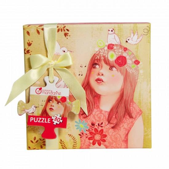 Puzzle 30 pièces : Coffret Collection Saisons : Printemps - Mandarine-42820O