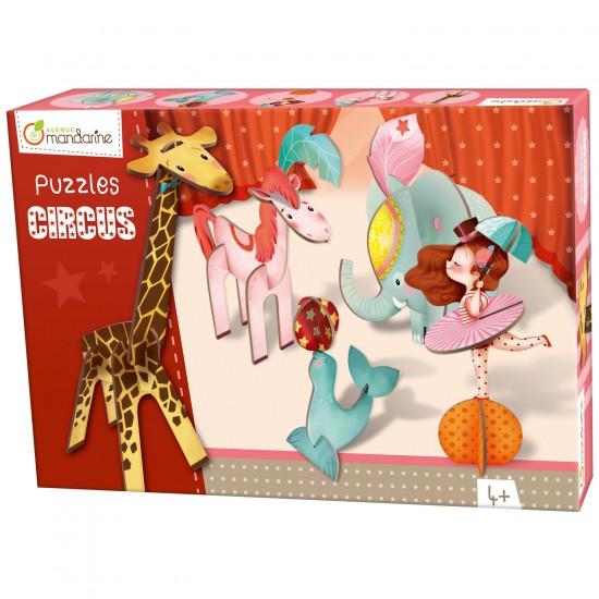 Puzzle 3D : Cirque fille - Mandarine-42767O
