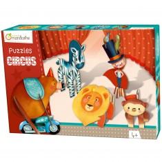 Puzzle 3D : Cirque garçon