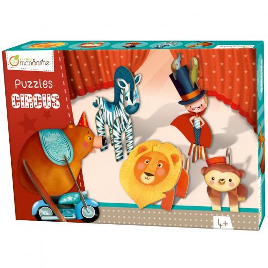 Puzzle 3D : Cirque garçon - Mandarine-42768O