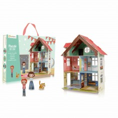 Puzzle en volume décor : Maison de poupées