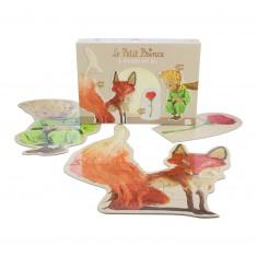Puzzles de 3 à 8 pièces : 3 puzzles XL Le Petit Prince