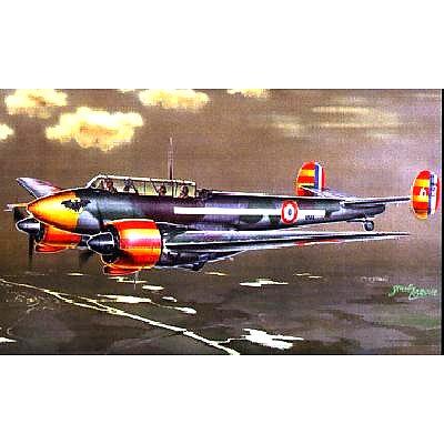 Maquette avion: Potez 631: Chasseur de nuit : 1/72 - Azur-AZ72037