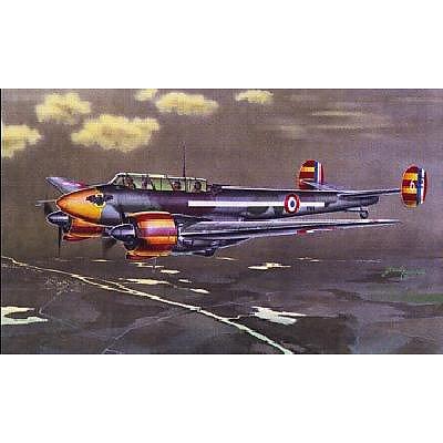 Maquette avion: Potez 631: Chasseur de nuit : 1/48 - Azur-AZ48058