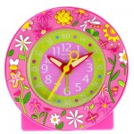 Réveil Baby Watch : Pink garden