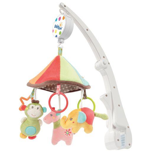 mobile musical de voyage safari babysun magasin de jouets pour enfants. Black Bedroom Furniture Sets. Home Design Ideas