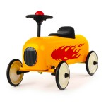 Porteur : Racer Flamme : Jaune