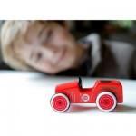 Voiture en bois : Mini bolide Woodies : Camion de pompiers