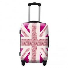 Valise à roulettes rigide Liberty UK 48 cm