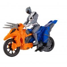 Figurine Power Ranger + Dino Cycle : Blue and Orange Ranger