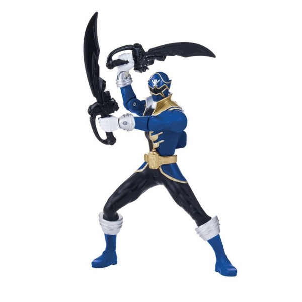 Figurine double action 16 cm Power Ranger bleu - Bandai-38140-2
