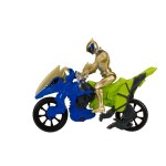 Figurine Power Ranger + Dino Cycle : Gold Ranger