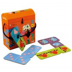 Jeu de Domino Barbapapa avec boîte spéciale