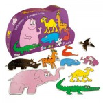 Puzzle évolutif Barbapapa : Zoo