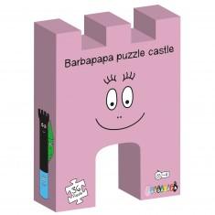 Puzzle 36 pièces : Château Barbapapa