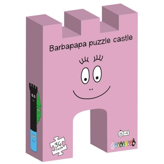 Puzzle 36 pièces : Château Barbapapa - BarboToys-62214