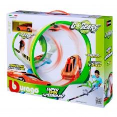 Circuit de voitures : Go Gear Super Spin Speedway + 1 voiture