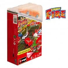 Diorama avec modèle réduit 1/43 : Open and Play Set Street Fire : Circuit de course