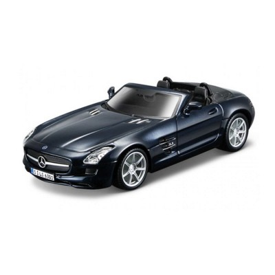 maquette voiture metal kit mercedes benz sls amg bburago rue des maquettes. Black Bedroom Furniture Sets. Home Design Ideas