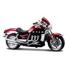 Modèle réduit : Moto Triumph Rocket III : Echelle 1/18