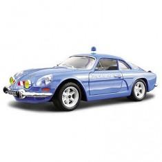 Modèle réduit - Alpine Renault Gendarmerie - Collection Security Team - Echelle 1/24 : Bleu