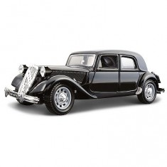 Modèle réduit -  Citroen 15CV Traction (1938) - Collection Bijoux -  Echelle 1/24 : Noir