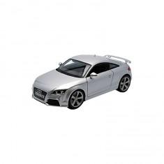 Modèle réduit de voiture de sport : Audi TT RS grise : Echelle 1/18