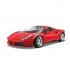 Modèle réduit de voiture de sport : Ferrari 2015 R & P 488 GTB : Echelle 1/18