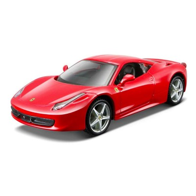 mod le r duit de voiture de sport ferrari rp 458 italia rouge echelle 1 24 jeux et jouets. Black Bedroom Furniture Sets. Home Design Ideas