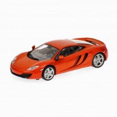 Modèle réduit de voiture de sport : Mc Laren MP4 12C orange : Echelle 1/24