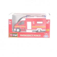 Modèle réduit Emergency Force Echelle 1/50 : Camion Pompiers Secours et Assistance aux victimes