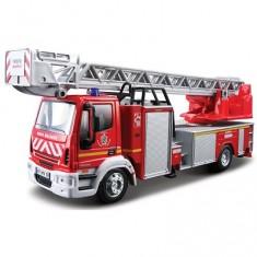 Modèle réduit - Iveco Magirus 150E 25 L - Collection Emergency Force - Echelle 1/50 :  Pompiers