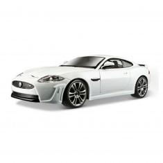 Modèle réduit Jaguar XK RS : Collection Plus : Echelle 1/24 : Blanc