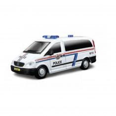 Modèle réduit Mercedes Benz Vito : Collection Emergency Force : Echelle 1/50 : Police