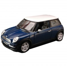 Modèle réduit Mini Cooper (2001) : Collection Gold : Echelle 1/18 : Bleu