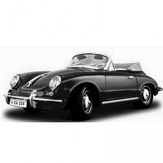 Modèle réduit - Porsche 356 b Cabriolet (1961) - Collection Bijoux - Echelle 1/24 : Noire