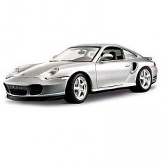 Modèle réduit - Porsche 911 Turbo - Collection Gold - Echelle 1/18 : Gris