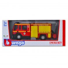 Modèle réduit - Renault : Magirus Emergency Force - Echelle 1/50 : Sapeurs Pompiers