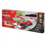 Tapis de jeu : Circuit de voitures 100 x 70 cm : Ferrari Formule 1